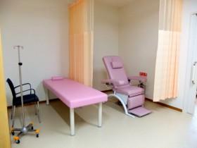 婦人科処置室