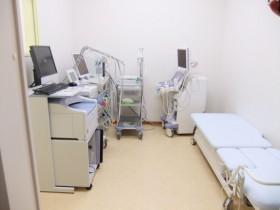最新の医療機器設備