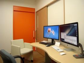 プライバシーに配慮した婦人科診察室